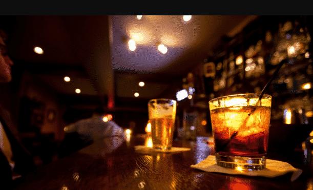 sexo con mi cita en el bar
